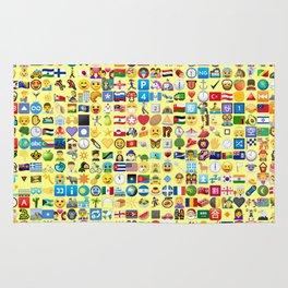 Emoji Madness Rug