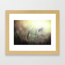 I can see you in my dreams... Framed Art Print