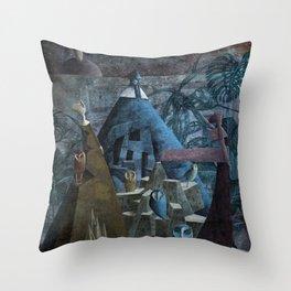 Leagues Under Throw Pillow