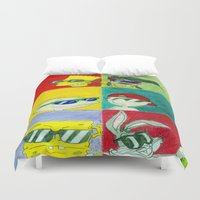 90s Duvet Covers featuring 90s Cool Kids by Artistic