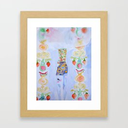 In a Cloud Framed Art Print