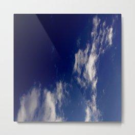 Clouds and sky II-cloud,sky,skies,vapor,fog,mist,cloudscape,nube,atmosfera,atmosphere,cielo,air Metal Print