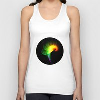 parrot Tank Tops featuring Parrot by Klara Acel