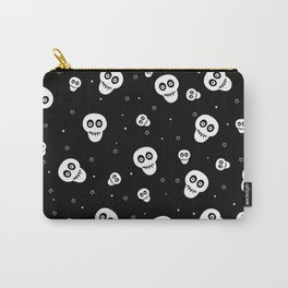 Skull and Stars Pattern Carry-All Pouch