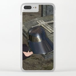 War Stars: Anakin Yorick Vader Skywalker Clear iPhone Case