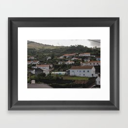 Houses (Prt 2) Framed Art Print