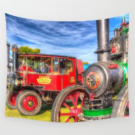 Traction Engine and Steam Lorry Wall Tapestry