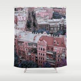 Kiev city Shower Curtain