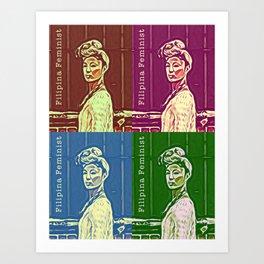 Filipina-na-na Art Print