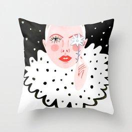 Cold Spring Throw Pillow