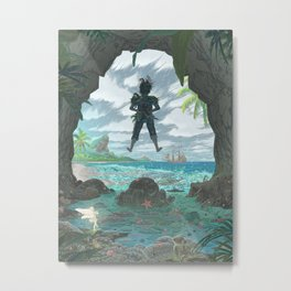 Pan - Storm Edition Metal Print
