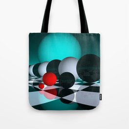 3 colors for your wall -6- Tote Bag