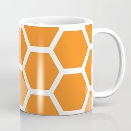 Orange Honeycomb Coffee Mug