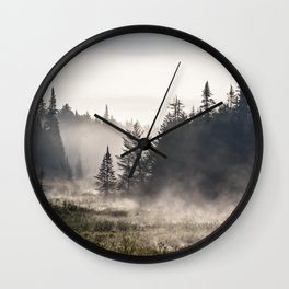 in the mist Wall Clock