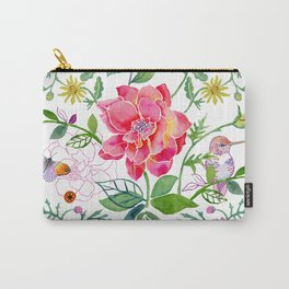 Bowers of Flowers Carry-All Pouch