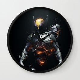 Logan Demons Dreaming Wall Clock