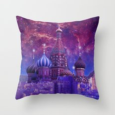 Hipsterland - Moscow Throw Pillow