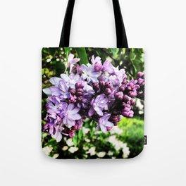 Lilac Luster Tote Bag