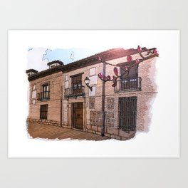 Sweet Home Alcalá Art Print