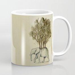 Carrying the Νature Coffee Mug
