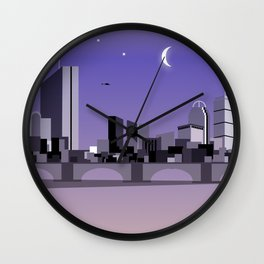 CHARLES RIVERVIEW II Wall Clock
