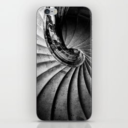 Sand stone spiral staircase iPhone Skin