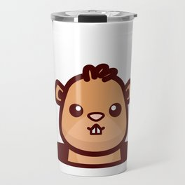 Groundhog Whisperer design Groundhog Day Gift Travel Mug