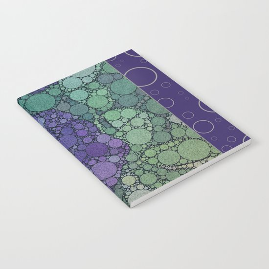 Percolated Purple Potato Flower Reboot  Notebook