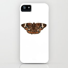 Common Buckeye (Junonia coenia) iPhone Case