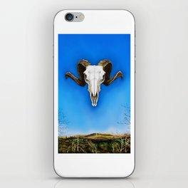 Dartmoor Sheep Skull iPhone Skin
