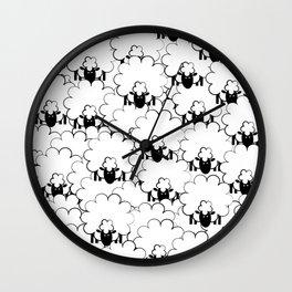 Count Sheep 1 Wall Clock
