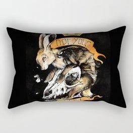 Not your prey Rectangular Pillow