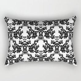 primrose bw pattern Rectangular Pillow