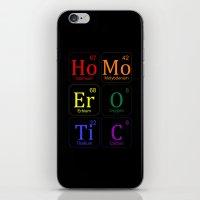 erotic iPhone & iPod Skins featuring HOMO EROTIC  by SLANTEDmind.com
