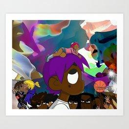Lil Uzi Vert vs The World album Art Print
