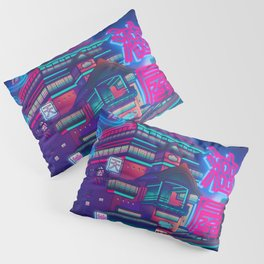 Neon Bath House Pillow Sham