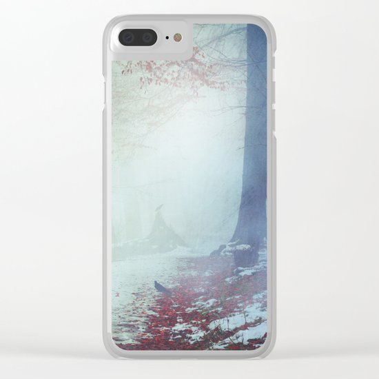 Snow Glow Clear iPhone Case