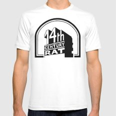 FOURTEENTH CENTURY-RAT Mens Fitted Tee SMALL White