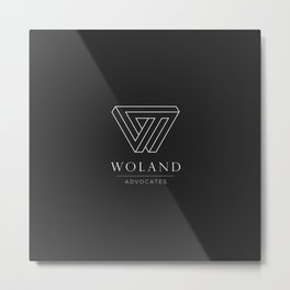 Woland Advocates Metal Print