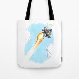 Stephen Hawking - Whee! Tote Bag