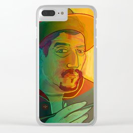 Dear Gauguin / Stay Wild Collection Clear iPhone Case