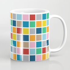 Colour Block Outline Coffee Mug