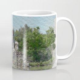 HALF MAN HALF MOUNTAIN Coffee Mug