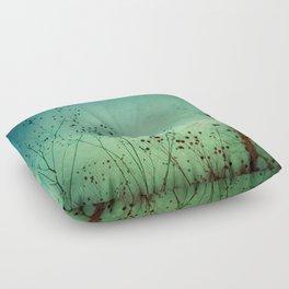 Between Autumn and Winter Floor Pillow