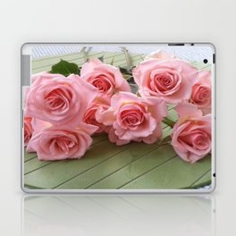 TAKE TIME TO SMELL THE ROSES Laptop & iPad Skin