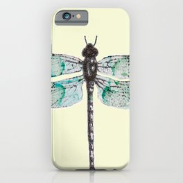Lady Dragonfly iPhone Case