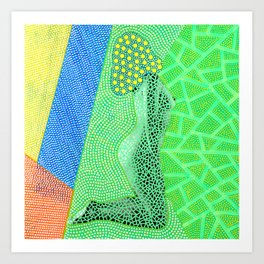 Plz Send Bigger Nudes 002 Art Print