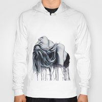 cara delevingne Hoodies featuring Cara Delevingne by Asquared2Art
