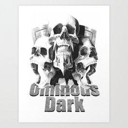 Ominous Dark Art Print