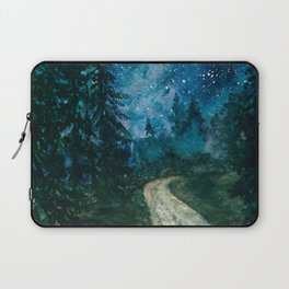 Starlit path Laptop Sleeve